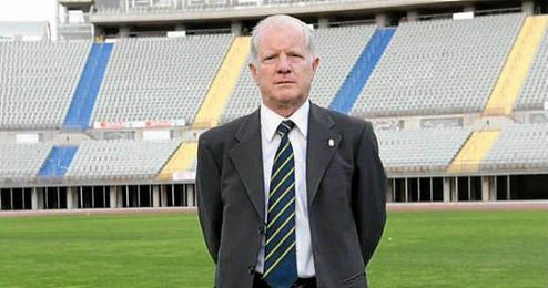 Merino González dirigió 172 partidos en la Primera División del fútbol español.