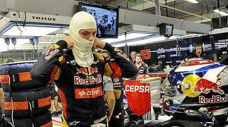 Max Verstappen, en el GP de Singapur.