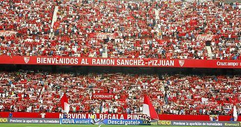 Las gradas del Sánchez-Pizjuán estarán a rebosar este sábado.
