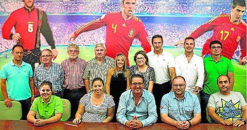Imagen de todos los seleccionadores andaluces para la presente temporada.