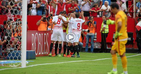 (Vídeo) Así fueron los goles de Krohn-Dehli e Iborra