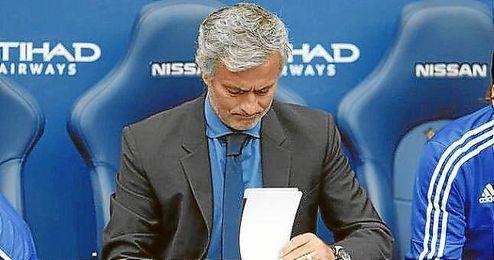Mourinho no atraviesa por un buen momento en el Chelsea.
