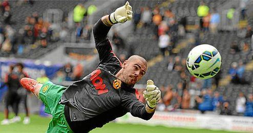 Valdés no cuenta para Van Gaal.