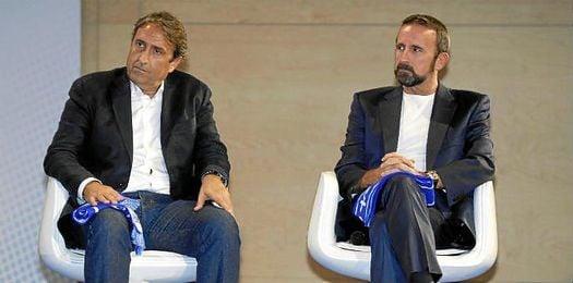 Casemiro, técnico del C.B. Sevilla.