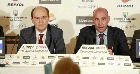 """""""Tenemos al mejor director deportivo del mundo""""."""