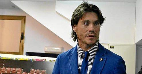 Maqu�rriain, durante su etapa como presidente de la Fundaci�n Osasuna.