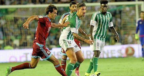 El lateral italiano está viviendo un gran momento en Heliópolis, tras un curso lleno de lesiones.