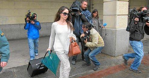 La jueza Alaya, en los juzgados de Sevilla.