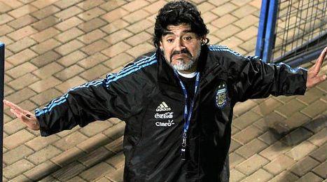 Maradona asegura que quiere lo mejor para los chicos.