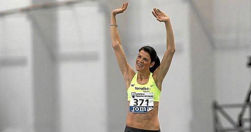 Beitia, en los últimos campeonatos de atletismo de España.