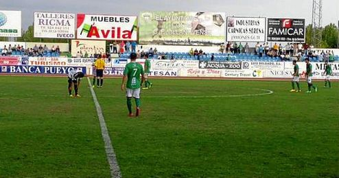 El estadio Romero Cuerda presentará un aspecto renovado para el encuentro copero.