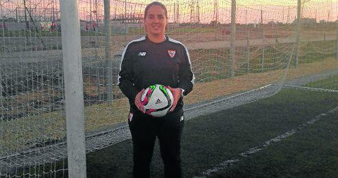 Maribel Márquez, entrenadora del Sevilla femenino.
