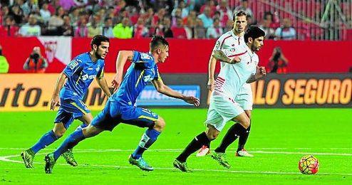 Banega volvió a cuajar otro gran partido, como en Manchester y en Eibar, en los minutos que tuvo.