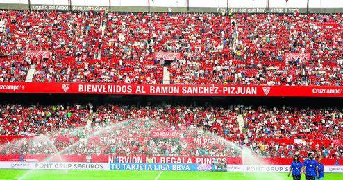 Un Sánchez-Pizjuán remozado promedia 36.988 espectadores en este inicio de temporada.