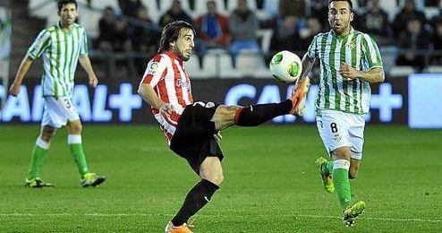 Beñat Etxebarria, jugador del Athletic.