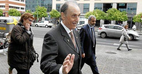 En la imagen, el expresidente del Betis, Manuel Ruiz de Lopera.