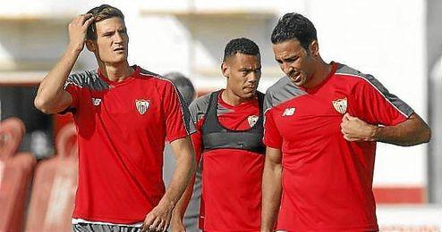 Adil Rami, jugador del Sevilla F.C..