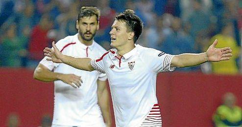 Marcos Álvarez confía en ver todo el potencial de ´Kono´ en el Sevilla.