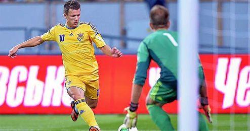 Konoplyanka estará con Ucrania en la repesca.