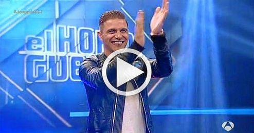 Joaquín, en el programa ´El Hormiguero´, de Antena 3.