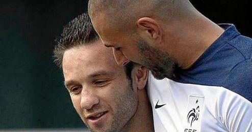 La imagen que ha subido a Facebook Mathieu Valbuena.