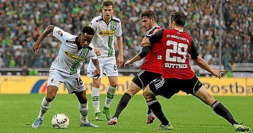 El Borussia no pudo pasar ante el Ingolstadt.