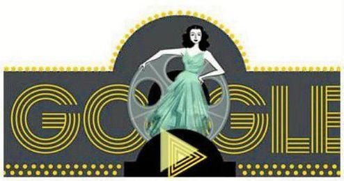 Google dedica su 'doodle' a Hedy Lamar, precursora del wifi