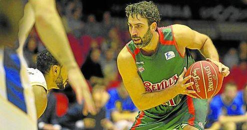 Berni Rodríguez confía en que la afición hispalense eche el resto mañana en San Pablo.