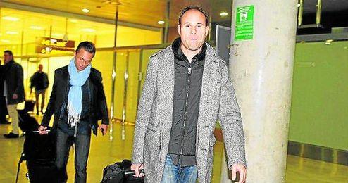 Mateu Lahoz, en su llegada a España procedente de Francia.