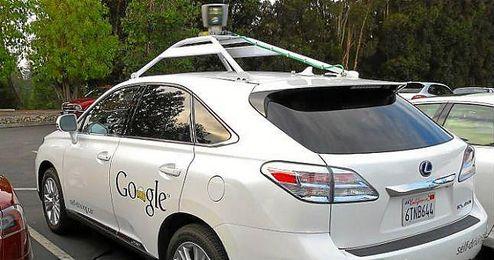 Vehículo de la multinacional Google.