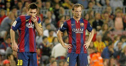Ambos jugadores durante un partido.