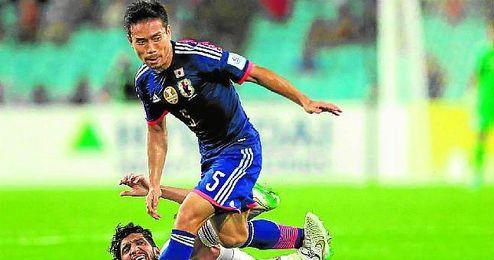 Nagatomo apenas cuenta con minutos en el Inter.