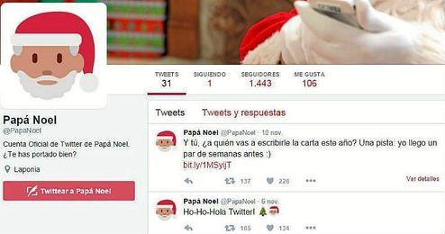 La cuenta de los Reyes Magos tiene ya más de 1800 seguidores.