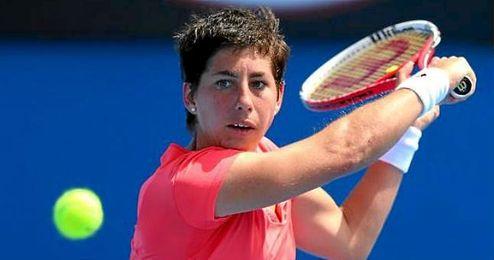 Carla Su�rez, tenista grancanaria.