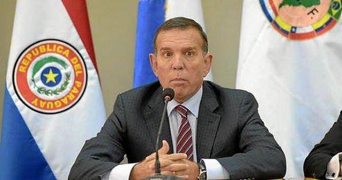 En la imagen, Juan �ngel Napout, presidente de la Conmebol.