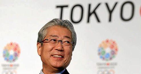 Tsunekazu Takeda durante la presentación de la candidatura de Tokio.