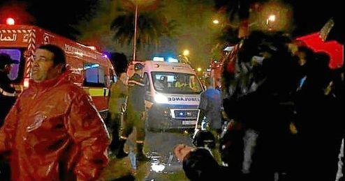 Imagen del atentado de Túnez.