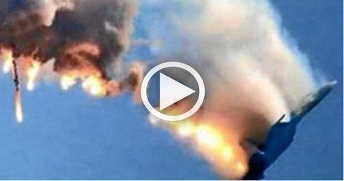 Turquía derriba un avión ruso por violar su espacio aéreo, según la cúpula militar turca