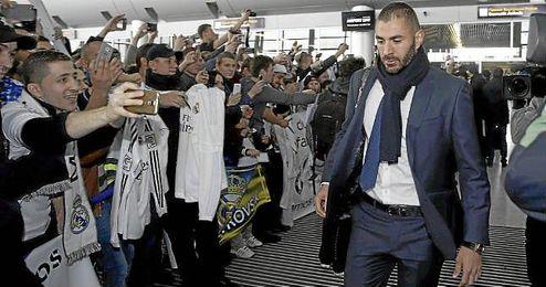Karim Benzema considera que se ha sacado de contexto su gesto.