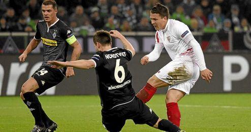 Konoplyanka tuvo una gran ocasión con 0-0.