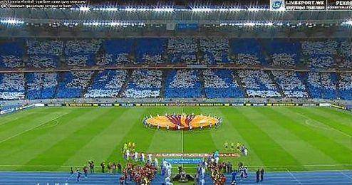 El club ucraniano ha sido multado con 100.000 euros.