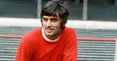George Best es considerado uno de los mejores futbolistas británicos de la historia.