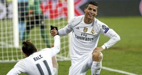 Bale y Cristiano fueron protagonistas en el Madrid.