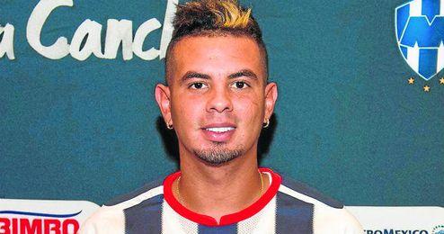 Edwin Cardona, jugador del Rayados de Monterrey.