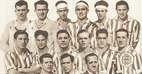 Foto hist�rica del Betis de la 32/33.