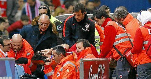 La lesión del pivote portugués es grave.