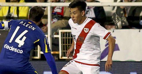 Zhang fue titular el mi�rcoles pasado en Copa.