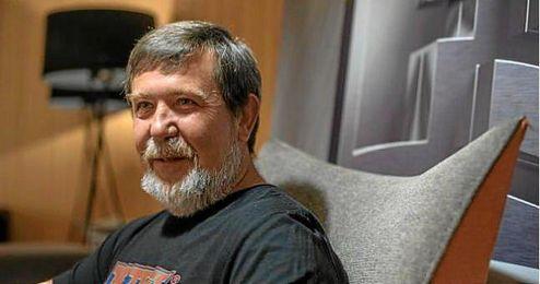El ingeniero informático e inventor del Tetris, Alexey Pajitnov,en el Fun & Serious Game Festival de Bilbao.