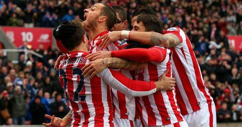 Arnautovic anotó los dos goles contra el City.