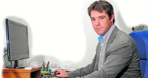 El delegado de Deportes del Ayuntamiento, David Guevara.